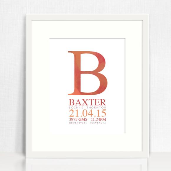 Baxter style