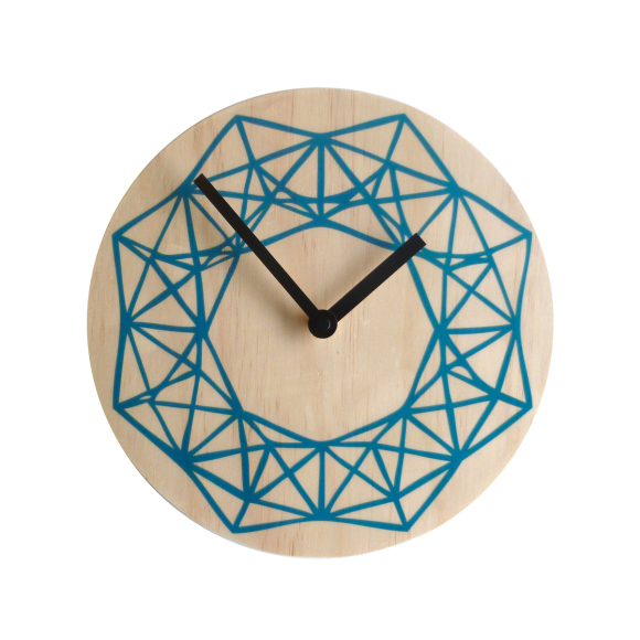 Beams wall clock