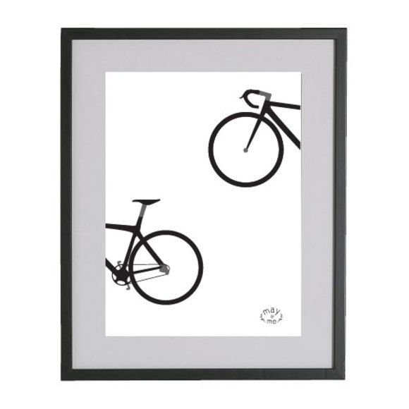Bike - Ride On A3 Poster