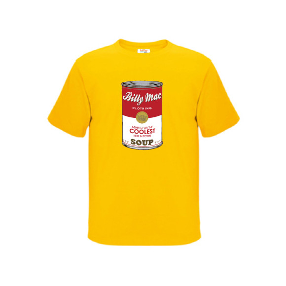 Soup can tee