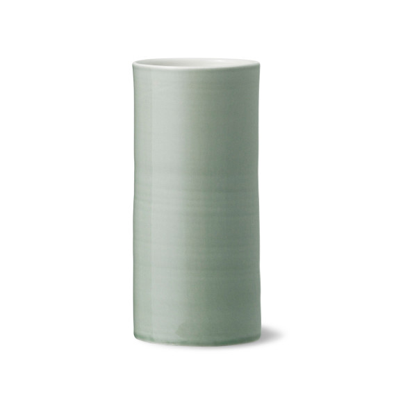 Bloom vase in jade