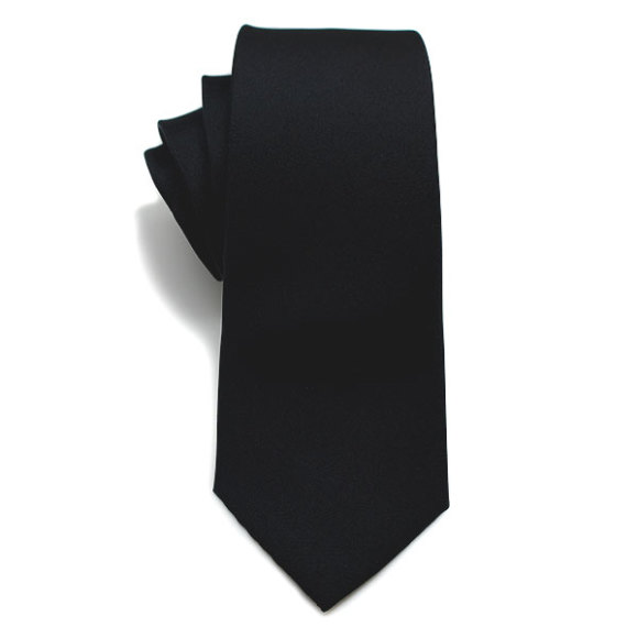 Black Out Silk Tie