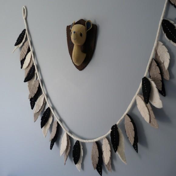 Monochrome Feathers