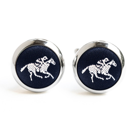 Black and White Horse Cufflinks