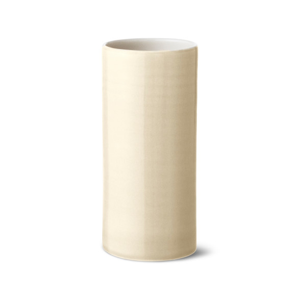 Bloom vase in cream