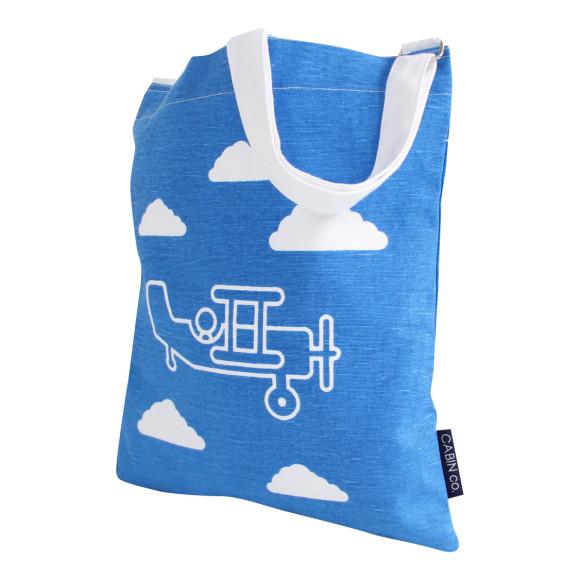 Plane library bag