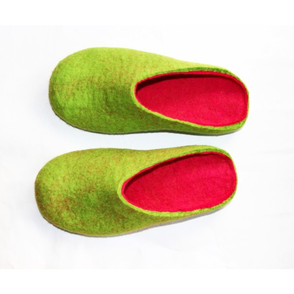 Felted Wool Shoes
