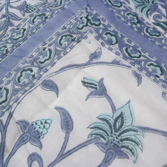 Blue Vine Quilt