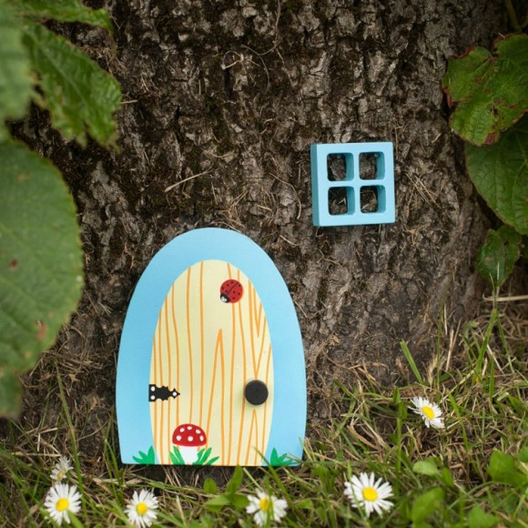 Bluebell fairy door