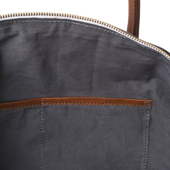 Skyline Leather Tote Bag Interior