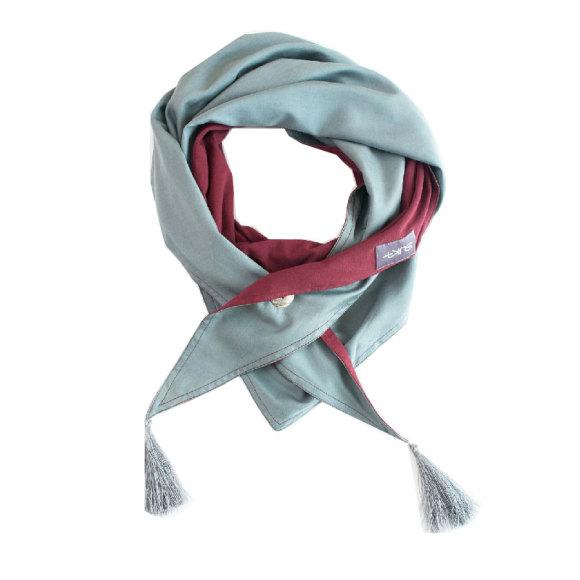 SUKA Bordeaux scarf