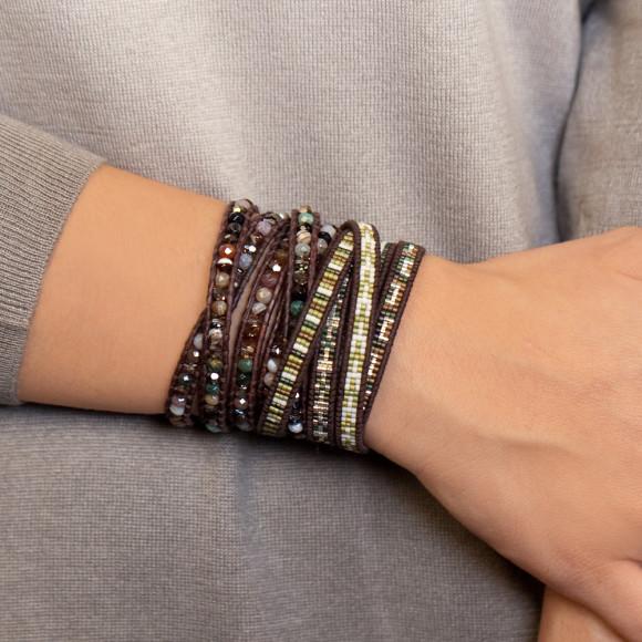 Mix wrap bracelet
