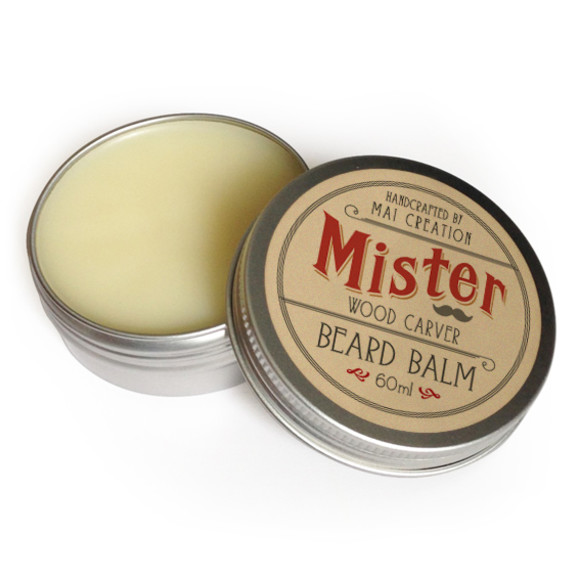 Wood Carver Beard Balm