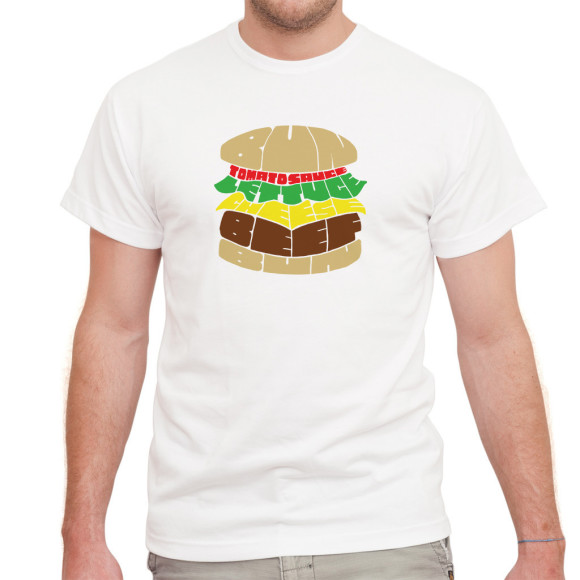 Wordburger Tee
