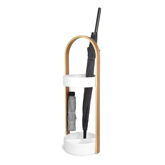 Umbrella stand in white