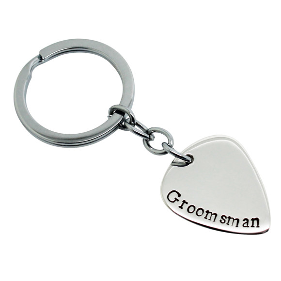 Groomsman Key Chain