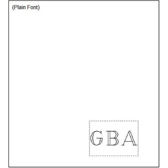Plain Font