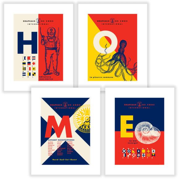 4 prints per pack