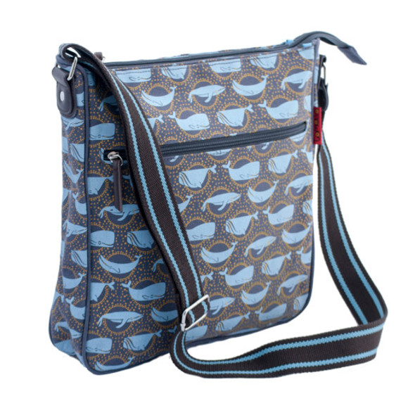 Tamelia Whale Messenger Bag