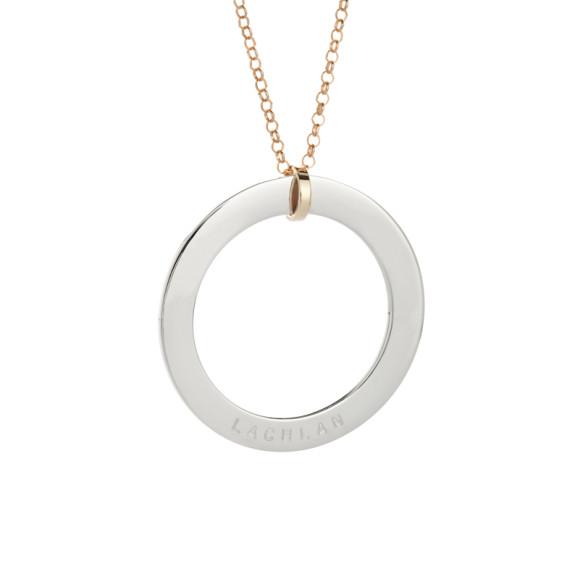 Gold belcher chain