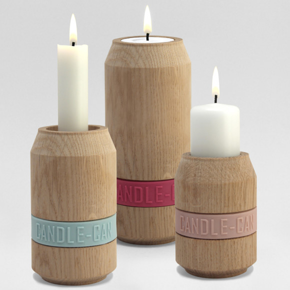 3 Set Candle Can