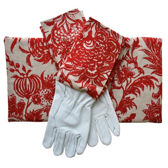 Glove & kneeling pad giftset
