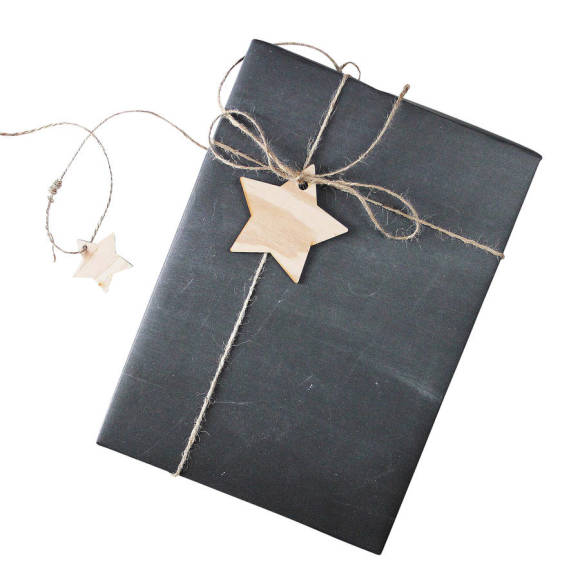 Chalk Gift Wrap