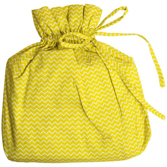 yellow cot sheet