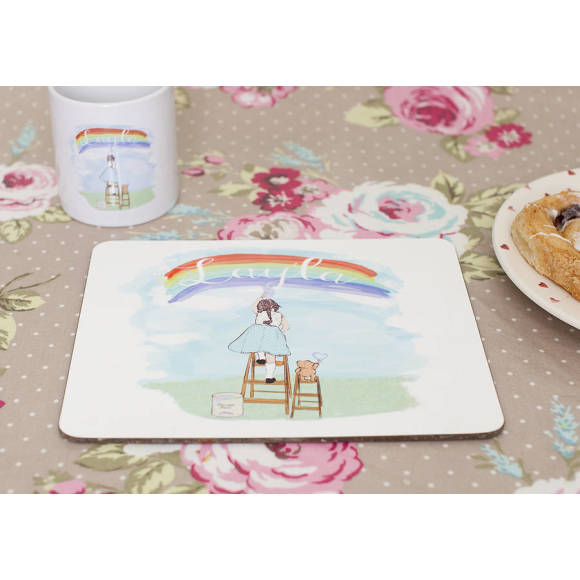 Girl's placemat
