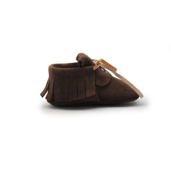 moccasin 'chocolat'