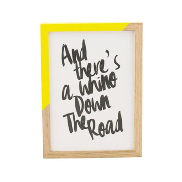 Zap Frame Yellow