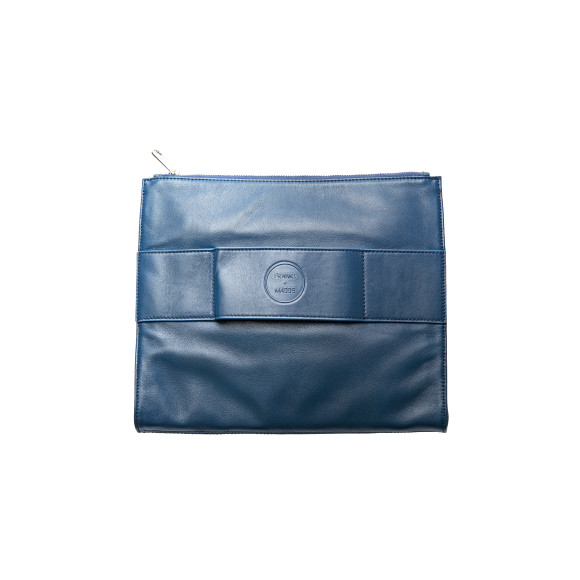 Butter soft leather clutch
