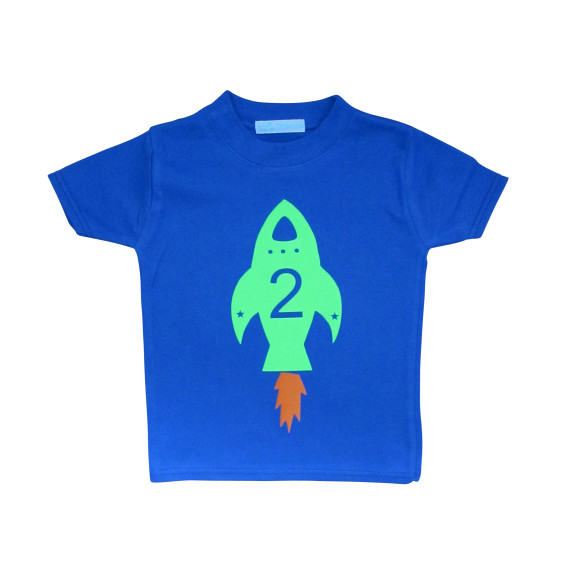 rocket birthday t shirt