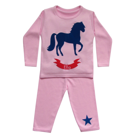 Purple Horse Pyjamas