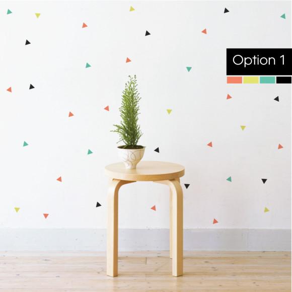Option 1: Mint, Olive, Coral Pink & Black