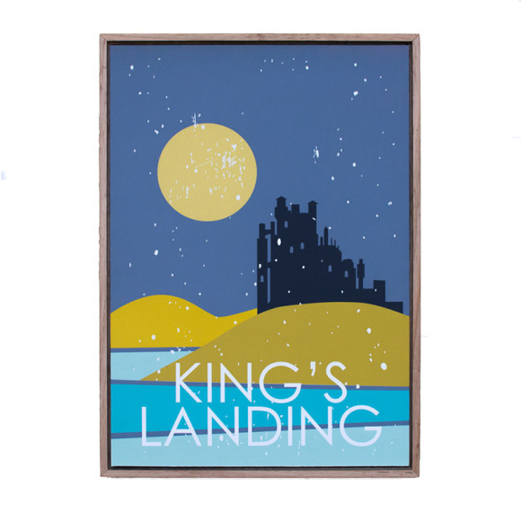 Kings Landing in Oak Floater