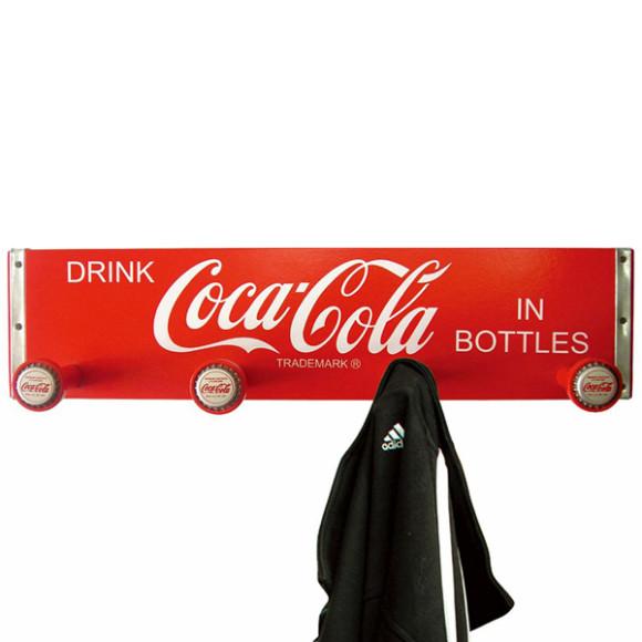 Coca Cola coat rack