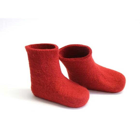 Kids felt boots