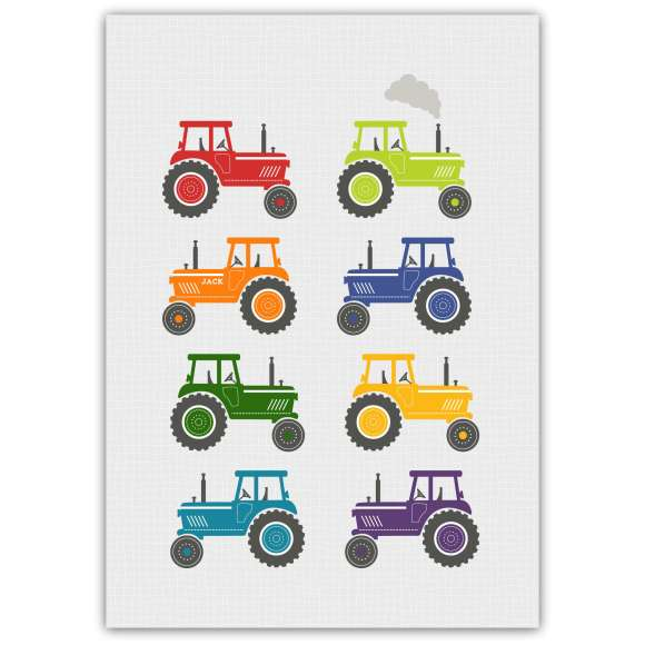 Bright Tractors