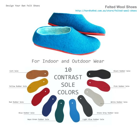 9 colors rubber sole