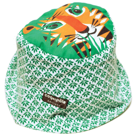 Sun Hat - Tiger