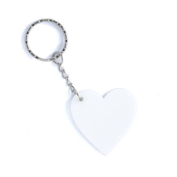 Small white keyring