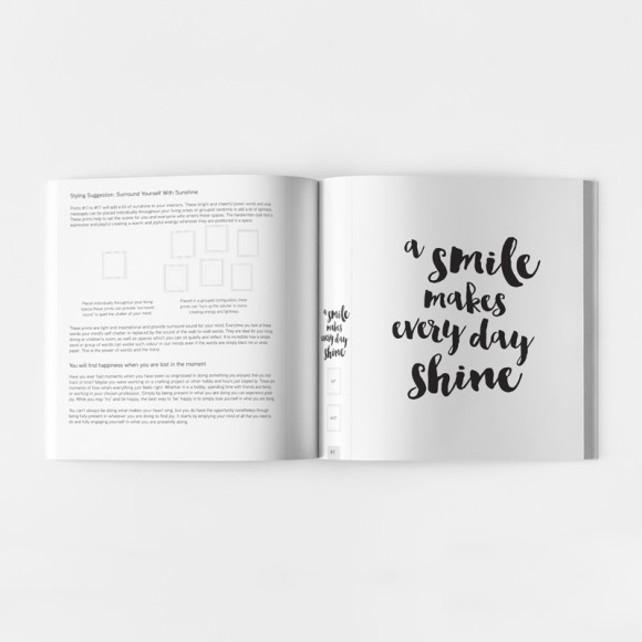 This beautiful print will make you smile