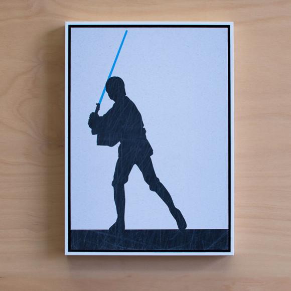Luke Skywalker in White Floater