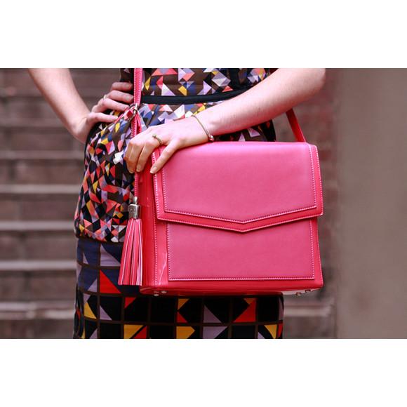 Pink iPad Bag