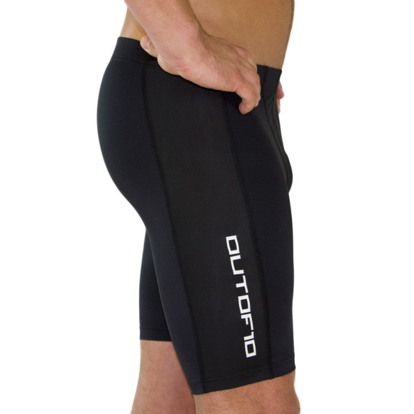 C10 - Comfort Compression Shorts Quad Length - Side view