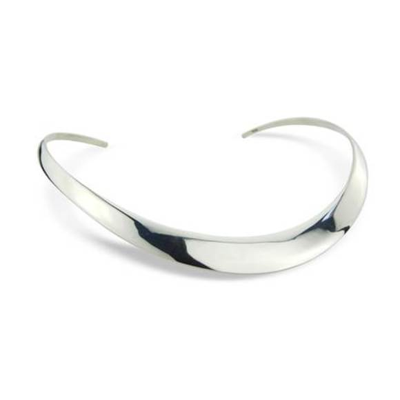 Sterling Silver Torq Collar