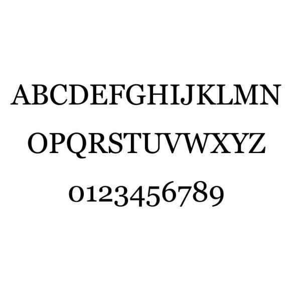 Serif Font