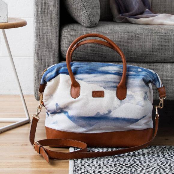 Skyline Leather Tote Bag