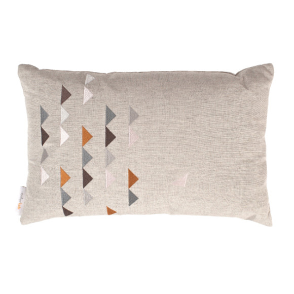 Eco-luxe cushion